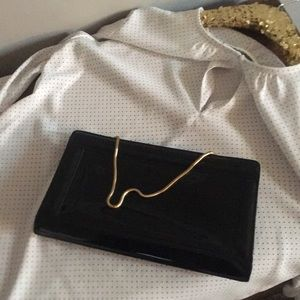 Ann Taylor Bundle Blouse and clutch/purse